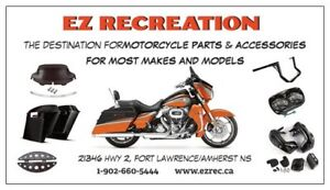 *EZ RECREATION* MOTORCYCLE PARTS & ACCESSORIES SHOP