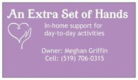 An Extra Set of Hands - In Home Support for Day to Day Living