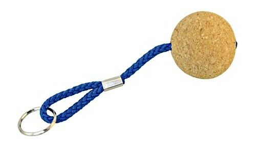 Floatable Key Ring Tag with Cork Ball 52mm