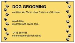 dog grooming Cannington Canning Area Preview