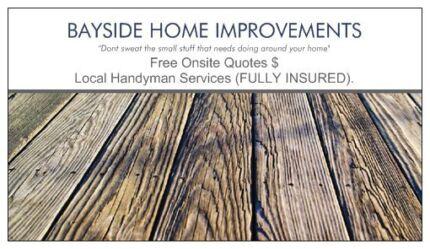 Bayside Home Handyman  & Improvements - Melbourne Bayside suburbs Hampton Bayside Area Preview