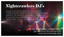 Nightcrawlers DJ's Byron Bay Wedding Djs Party Djs. Federal Byron Area Preview