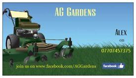 Garden service , grass cutting , hedge trimming , pressure washing , strimming