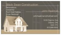 BLACK SWAN GENERAL CONTRACTING AND PAINTING
