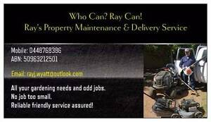Rays Property Maintenance & Delivery Service Penfield Playford Area Preview