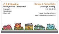 C & P Cleaning/Painting Service