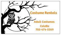Costume Rentals- 500 plus Costumes