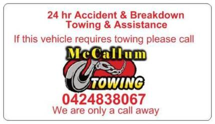 cheaper towing tow truck tilt trays  4x4 RECOVERYS TOWTRUCK Wangara Wanneroo Area Preview