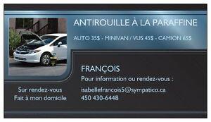 ANTIROUILLE COMPLET (OTOPROTEC) A PARTIR DE 35$