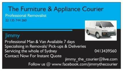 ★★THE FURNITURE & APPLIANCE COURIERS★★ Penrith Penrith Area Preview