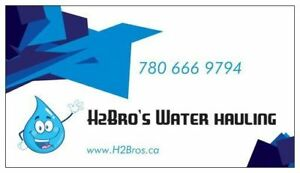 H2Bro's Potable Water Hauling