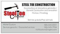 Michel Couture - Steel Toe Construction