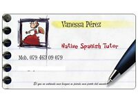SPANISH tutor. Native and qualified teacher (QTS). Tuition in North and Central London.