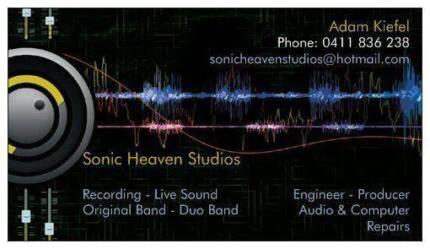 Sonic Heaven Studios Cessnock Cessnock Area Preview