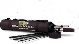 MULTIROD TRAVEL MASTER IRONMAN FISHING ROD Wellington Point Redland Area Preview