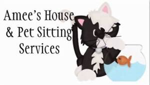 Amee's House and Pet Sitting Services