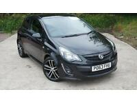 2013 Vauxhall Corsa 1.4T Black Edition 3 door Petrol Hatchback