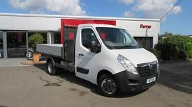 2017 Vauxhall Movano 2.3 CDTI H1 Tipper 125ps Diesel