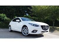 2016 Mazda 3 2.0 Sport Nav 5 door Auto [Leather] Petrol Hatchback
