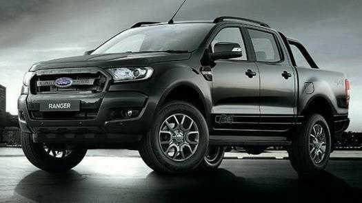 2018 ford ranger pick up double cab black edition 2 2 tdci. Black Bedroom Furniture Sets. Home Design Ideas