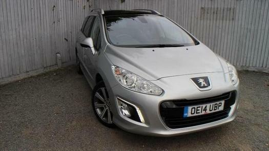 2014 Peugeot 308 SW 1.6 e-HDi 115 Active 5 door [Sat Nav] Diesel Estate