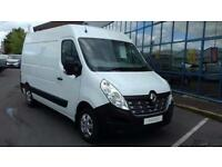 2017 Renault Master MM33dCi 110 Business+ Medium Roof Van [EURO 6] Diesel