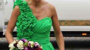 Green Chiffon Dress Gatineau Ottawa / Gatineau Area image 2