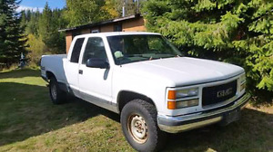 97 gmc half ton extended cab