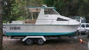 6.2M TWIN HULL HARDTOP CUSTOM BUILT PROJECT BOAT Mullumbimby Byron Area Preview
