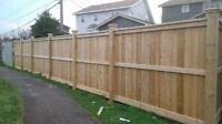 FENCES, DECKS, SHEDS, RETAINING WALLS, TOPSOIL, SODS, GRAVEL,