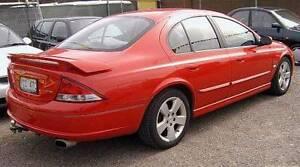 2002 Ford Falcon Sedan Mitchell Gungahlin Area Preview
