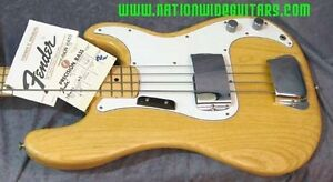 1974 Fender Precision Bass all natural,almost mint condition Kitchener / Waterloo Kitchener Area image 2