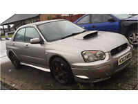 Subaru impreza wrx sti. Widetrack