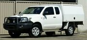 2012 Toyota Hilux KUN26R MY12 SR (4x4) White 5 Speed Manual X Cab Cab Chassis Lismore Lismore Area Preview