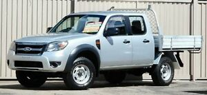 2010 Ford Ranger PK XL (4x4) Silver 5 Speed Manual Dual Cab Chassis Lismore Lismore Area Preview