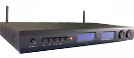 Pair of 2.4G Digital Wireless Microphones and 2 channel Receiver