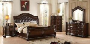 8 PC QUEEN SIZE BEDROOM SETS ON SALE: GRAND  SALE (AD 172)