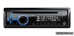 Clarion CZ302E Car Stereo with iPod iPhone Control Parrot Bluetooth USB Aux In