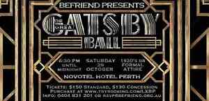 Befriend Ball: The Great Gatsby Perth Perth City Area Preview