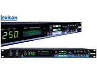 Lexicon MPX 1 MPX1 1U rack mount professional multiple fx processor.