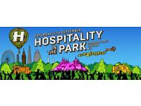 Hospitality In The Park, Finsbury Park LDN, Two Tickets, 24th September, Drum & Bass music
