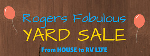 Rogers Fabulous Moving Sale!