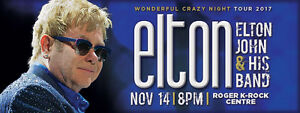 Elton John - Rogers K-Rock Centre - Kingston, ON