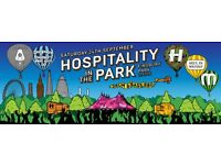 2 x Tickets for Hospitality in the park Finsbury