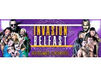 OVER THE TOP WRESTLING LIVE IN BELFAST - 1 X VIP PLUS FRONT ROW TICKET