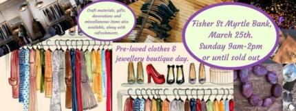 Pre-Loved Boutique Day and Garage Sale