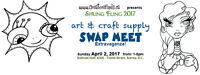 Art & Craft Supply SWAP MEET!
