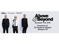 Above & Beyond @ O2 Glasgow standing ticket