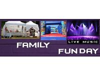 Cancer Research UK Family Funday @ Brickfields - Lots of fun and Live music