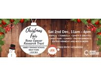 Volunteers for Charity Christmas Fair